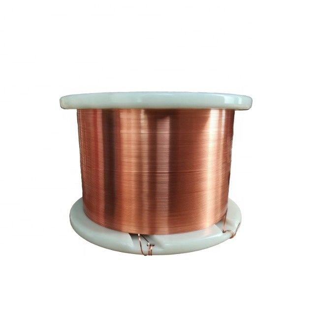 Ultra Thin flat / Square Enameled Copper Wire For High Frequency Transformers
